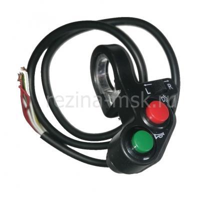 Блок управления кнопками версия (свет, сигнал, повторители поворота)